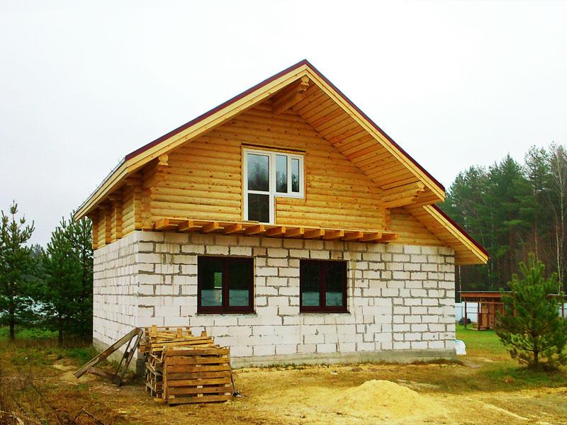 Строй-Профи. Строительство комбинированных домов.