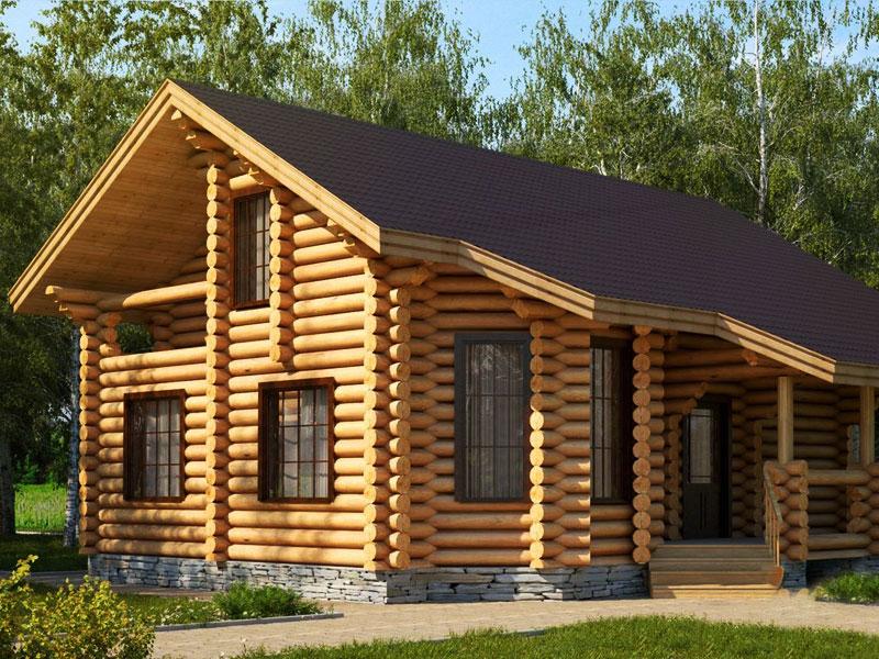 Строй-Профи. Строительство домов из оцилиндрованного бревна